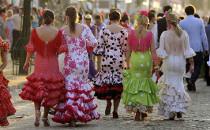 Sevillanas dans la Feria