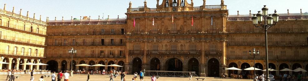 La plaza mayor de Salamanque
