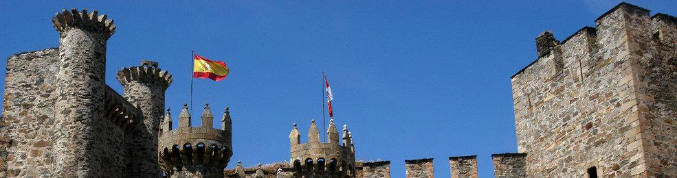 Le château des templiers de Ponferrada