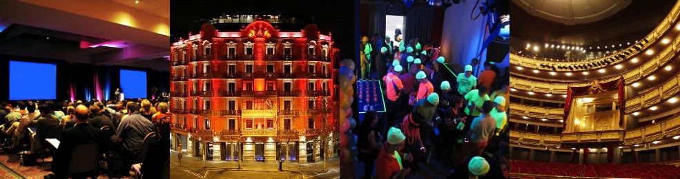 Conférence / Hôtel Boutique / Showroom / Théatre Royal de Madrid