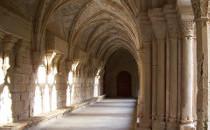 Intérieur du monastère de Poblet