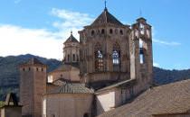 Extérieure du monastère de Poblet