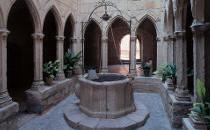 Patio médiéval à Montblanc