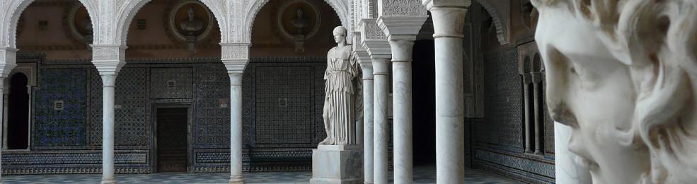Le patio principal de la Casa de Pilatos