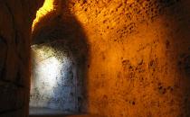 Les galeries du théâtre romain