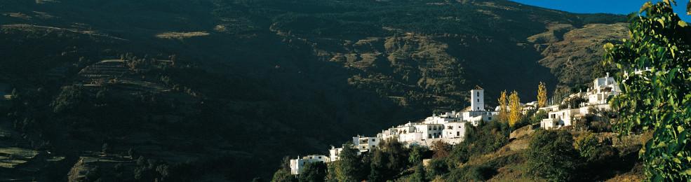 Le village de Capileira dans les Alpujarras