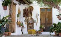 Une maison typique de Bubión