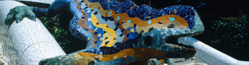 La salamandre du Park Güell