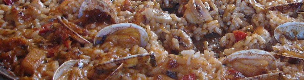 Riz du delta de l'Ebre avec fruits de mer